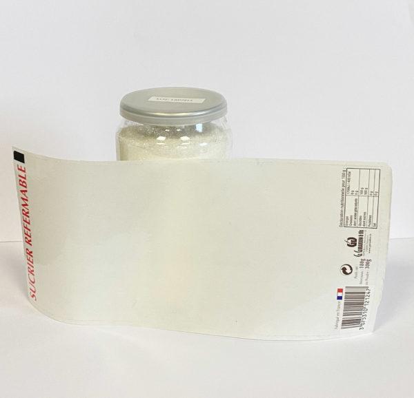 Canette à personnaliser, avec son étiquette transparente 2,12€ 1